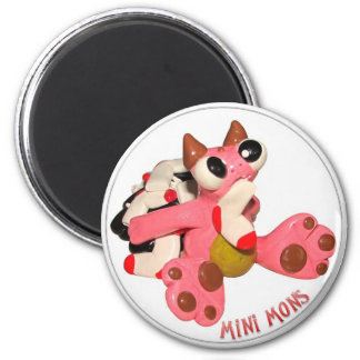 """Mini Mons """"Sock Monster"""" Magnet"""