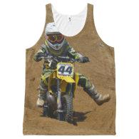 Mini Motocross All-Over Print Tank Top