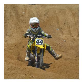 Mini Motocross Personalized Announcement