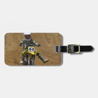 Mini Motocross Luggage Tag