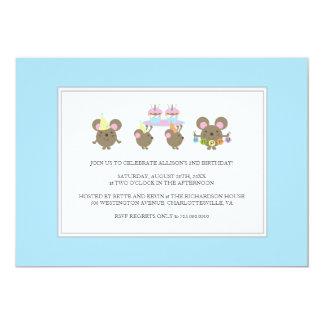 Mini Mouse Birthday Party Invitation