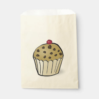 Mini Muffins Favor Bag
