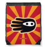 Hand shaped Mini Ninja Drawstring Backpack