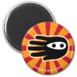 Hand shaped Mini Ninja Magnet