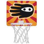 Hand shaped Mini Ninja Warrior Mini Basketball Hoop
