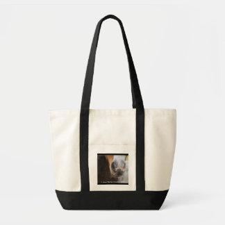 Mini Nose Canvas Bag