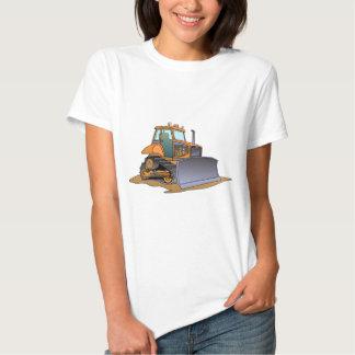 Mini Orange Bulldozer Tee Shirt
