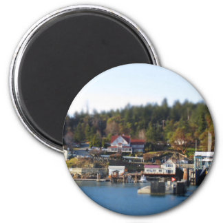 Mini Orcas! 2 Inch Round Magnet