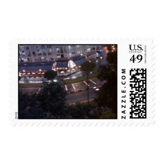 Mini Part of Singapore Postage Stamp