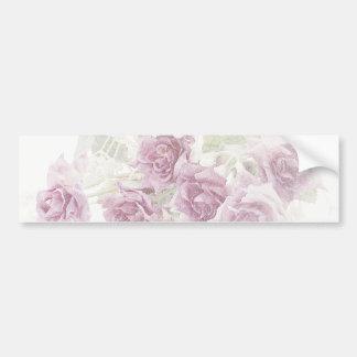 Mini pegatina de los rosas de Borgoña Pegatina Para Auto