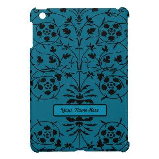¡Mini personalizado del caso del ipad azul bonito