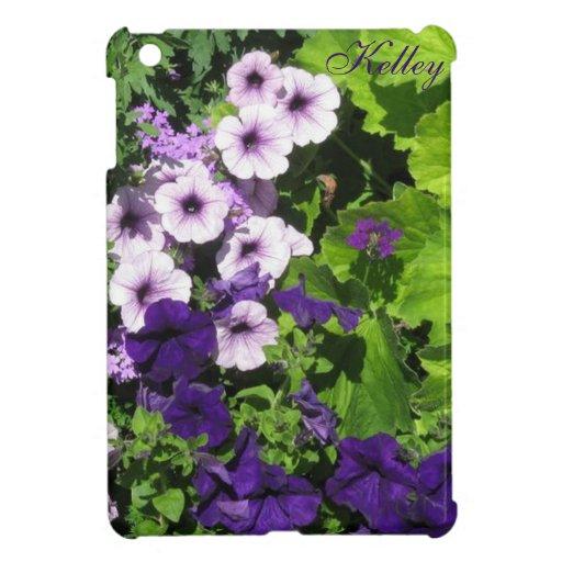 Mini *Personalize* del caso del iPad púrpura de
