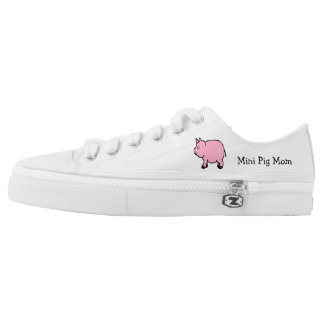 Mini Pig Mom Low Tops
