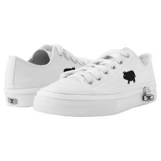 Mini Pig Zipz Low Top Shoes, US Men 4 / US Women 6
