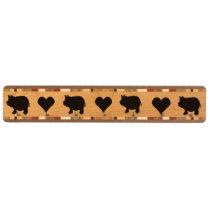 Mini Pigs and Hearts Key Rack