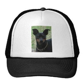 Mini pin trucker hats