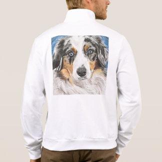 Mini pintura australiana chaqueta imprimida