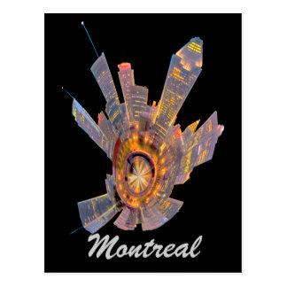 mini planeta de Montreal Tarjeta Postal