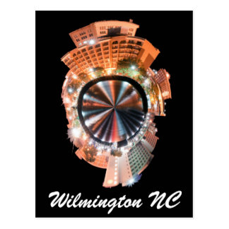 mini planeta de wilmington nc tarjeta postal