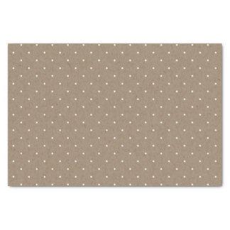 Mini Polka Dots Christmas Holiday Tissue Paper