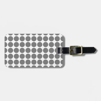 Mini Polka Dots Luggage Tag