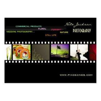 Mini Portfolio business cards photos template