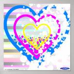 Mini poster #2 de los corazones manchados