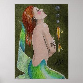 Mini poster de la sirena