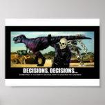 Mini-poster del Dr. Mortose Commands Decisions