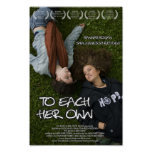 """Mini Poster """"To Each Her Own"""" Movie Lesbian Film"""