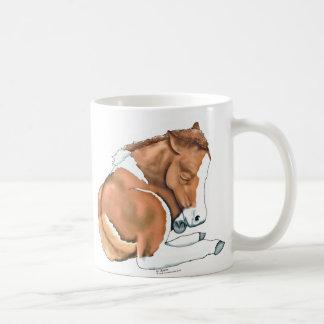 Mini potro personalizado taza de café