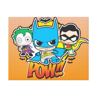 Mini Pow Canvas Print