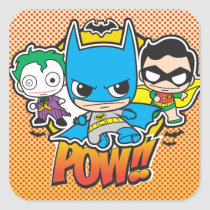 justice leauge, super hero, batman, robin, superman, cyborg, joker, chibi, japanese, toy, dc comics, comic book, Sticker with custom graphic design