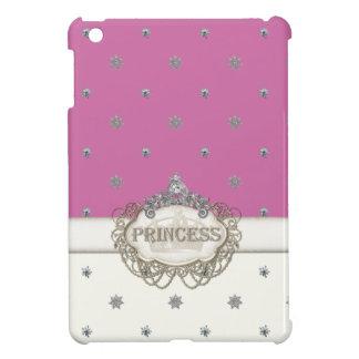 Mini princesa Jewel Bling Crown Personalized de IP iPad Mini Funda