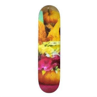 Mini Pumpkins and Gourds at Farmer's Market Skate Decks