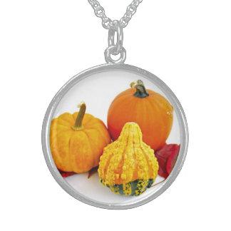 Mini pumpkins necklaces