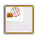 Mini Pumpkins with Fall Leaves Photo Frame Envelope