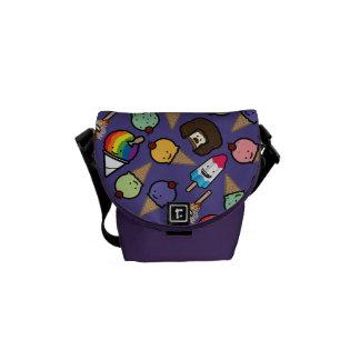 Mini Purple Frosty Treat Messenger Bag