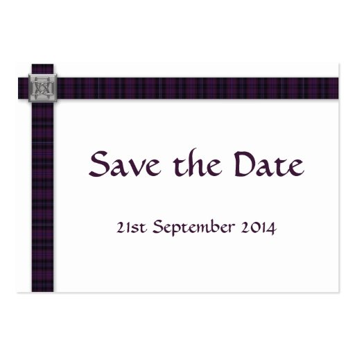 Scottish save the date cards