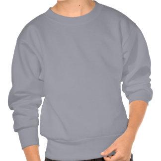 Mini púrpuras del signo de la paz - pullover sudadera