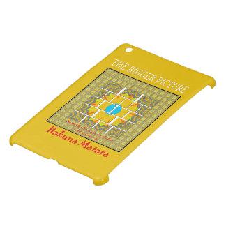 Mini QPC cubierta de la plantilla de Ipad para el