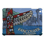 Mini regalo del recuerdo de Vancouver del caso de  iPad Mini Funda
