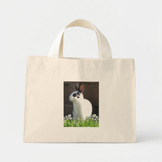Mini Rex and flowers bag