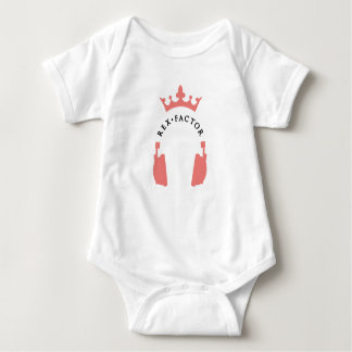 Mini Rex fan baby grow Baby Bodysuit