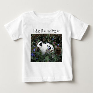 Mini Rex on baby shirt/toddlers Baby T-Shirt