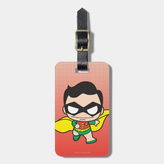 Mini Robin Luggage Tag