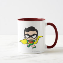 justice leauge, super hero, batman, robin, superman, cyborg, joker, chibi, japanese, toy, dc comics, comic book, Mug with custom graphic design