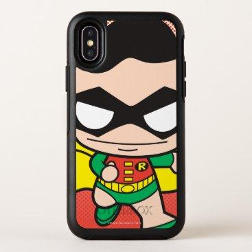 Mini Robin OtterBox Symmetry iPhone X Case
