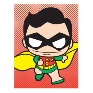 Mini Robin Postcard