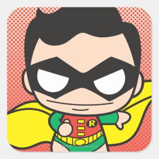 Mini Robin Square Sticker